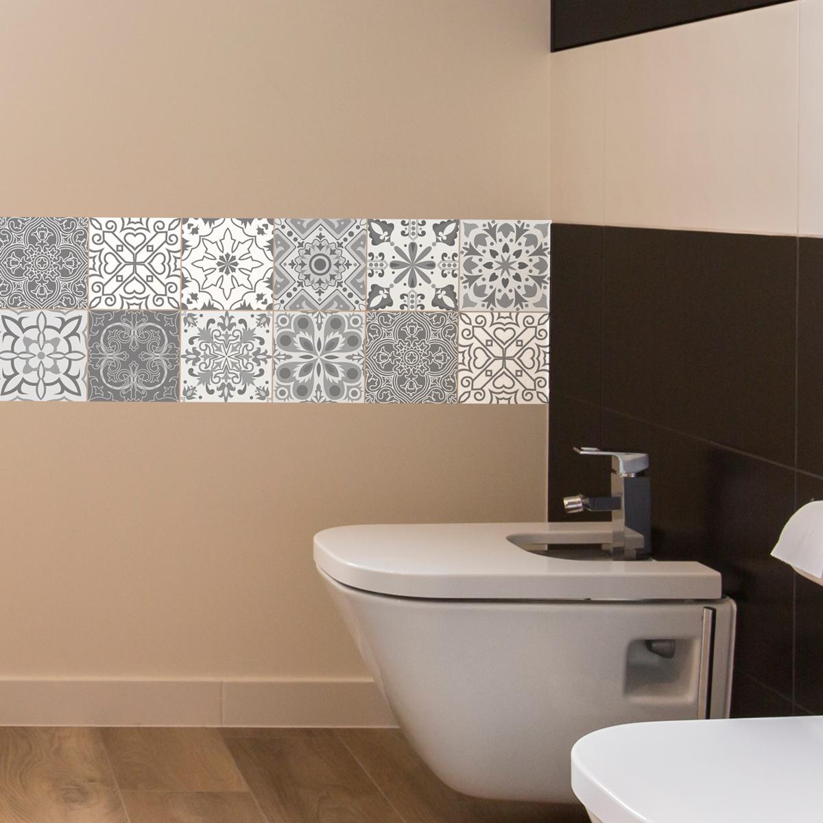 carreaux de ciment toilettes affordable wc carreaux de ciment et cuisine p hi carreau de ciment. Black Bedroom Furniture Sets. Home Design Ideas