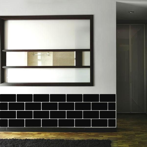 stickers muraux pays et villes sticker d coratif avec briques ambiance. Black Bedroom Furniture Sets. Home Design Ideas