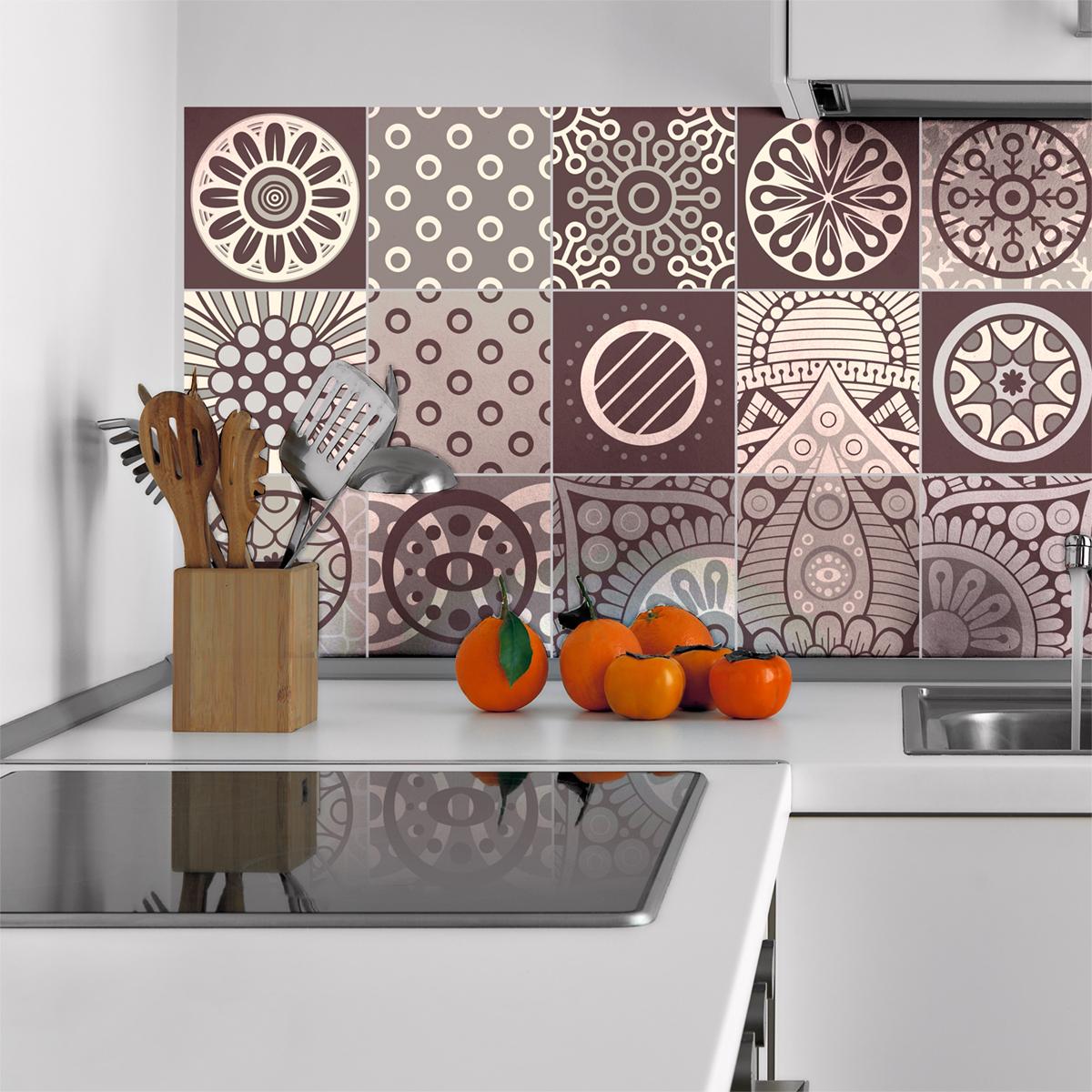 15 stickers carreaux de ciment mendoza salle de bain et wc salle de bain ambiance sticker. Black Bedroom Furniture Sets. Home Design Ideas