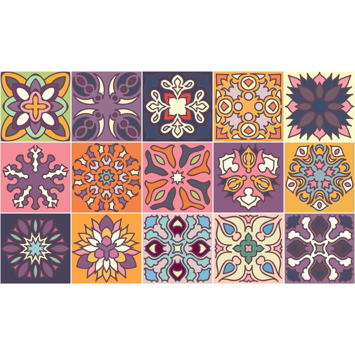 15 stickers carrelages azulejos marbella cuisine. Black Bedroom Furniture Sets. Home Design Ideas