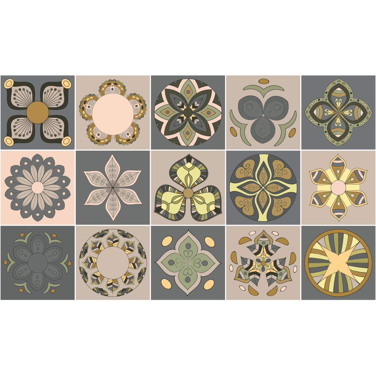 15 stickers carrelages azulejos patras cuisine. Black Bedroom Furniture Sets. Home Design Ideas