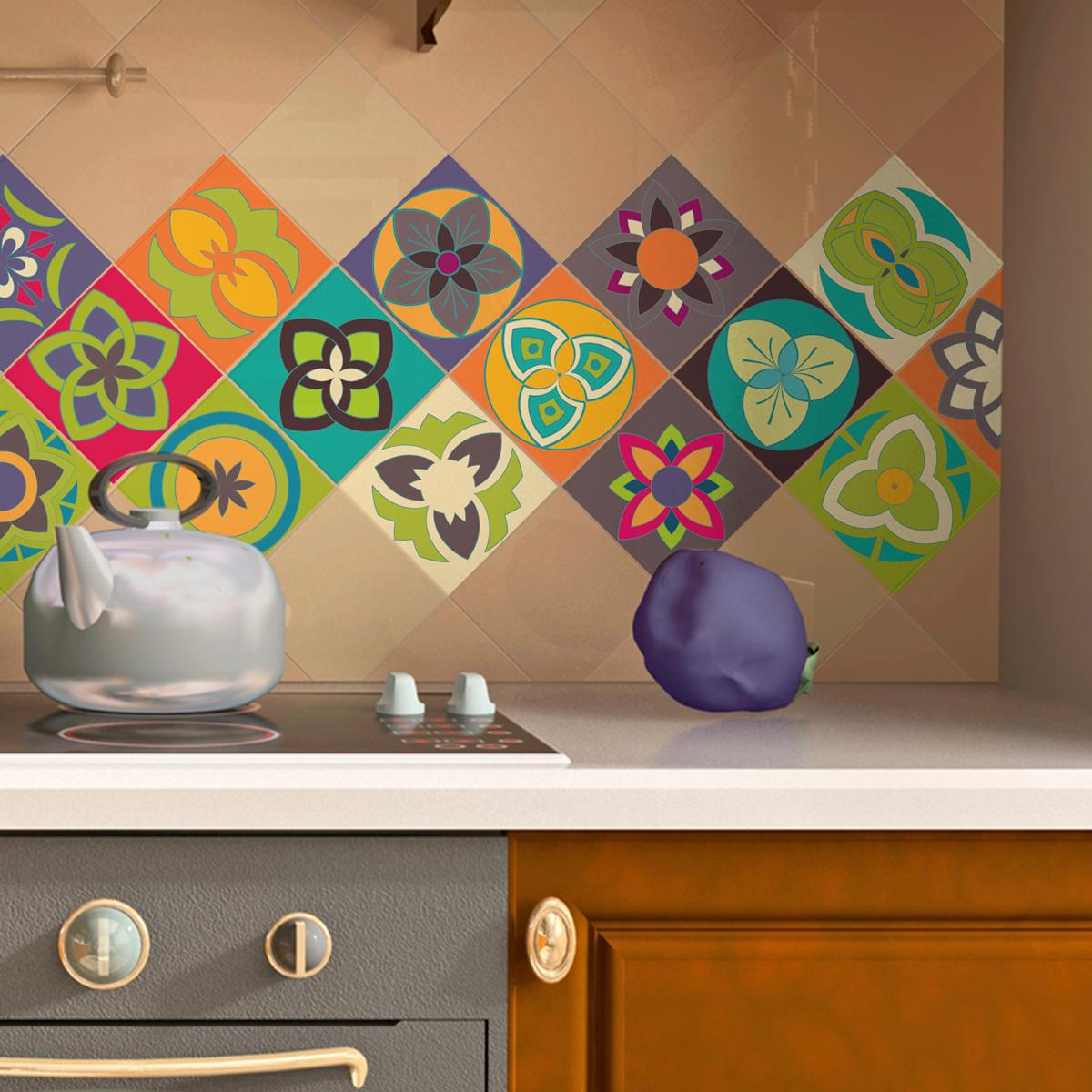 15 stickers carrelages azulejos vi ales salle de bain et for Stickers carrelage 20x20
