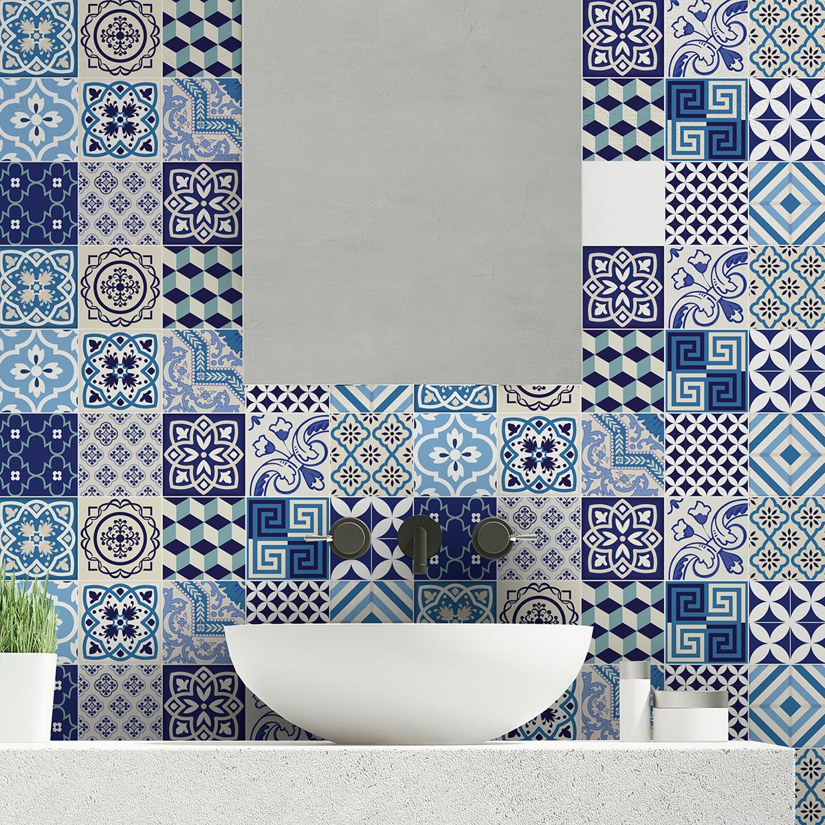 Stickers muraux carrelage photos de conception de maison for Carrelages muraux