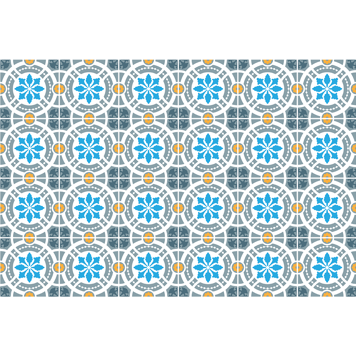 24 stickers carreaux de ciment azulejos arruda cuisine. Black Bedroom Furniture Sets. Home Design Ideas