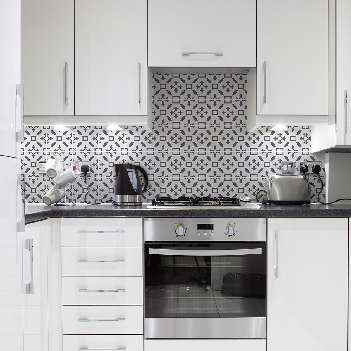 24 stickers carreaux de ciment azulejos erica cuisine. Black Bedroom Furniture Sets. Home Design Ideas