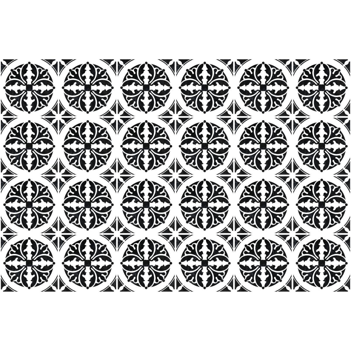 24 stickers carrelages azulejos mauricio salle de bain mur salle de bain ambiance sticker. Black Bedroom Furniture Sets. Home Design Ideas