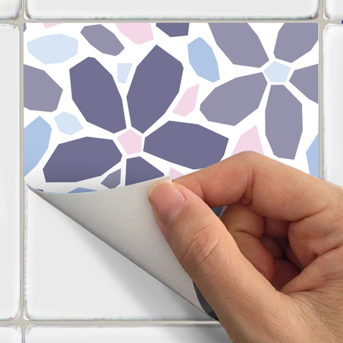 24 Stickers Carrelages Azulejos Ornements Raffin Art Et