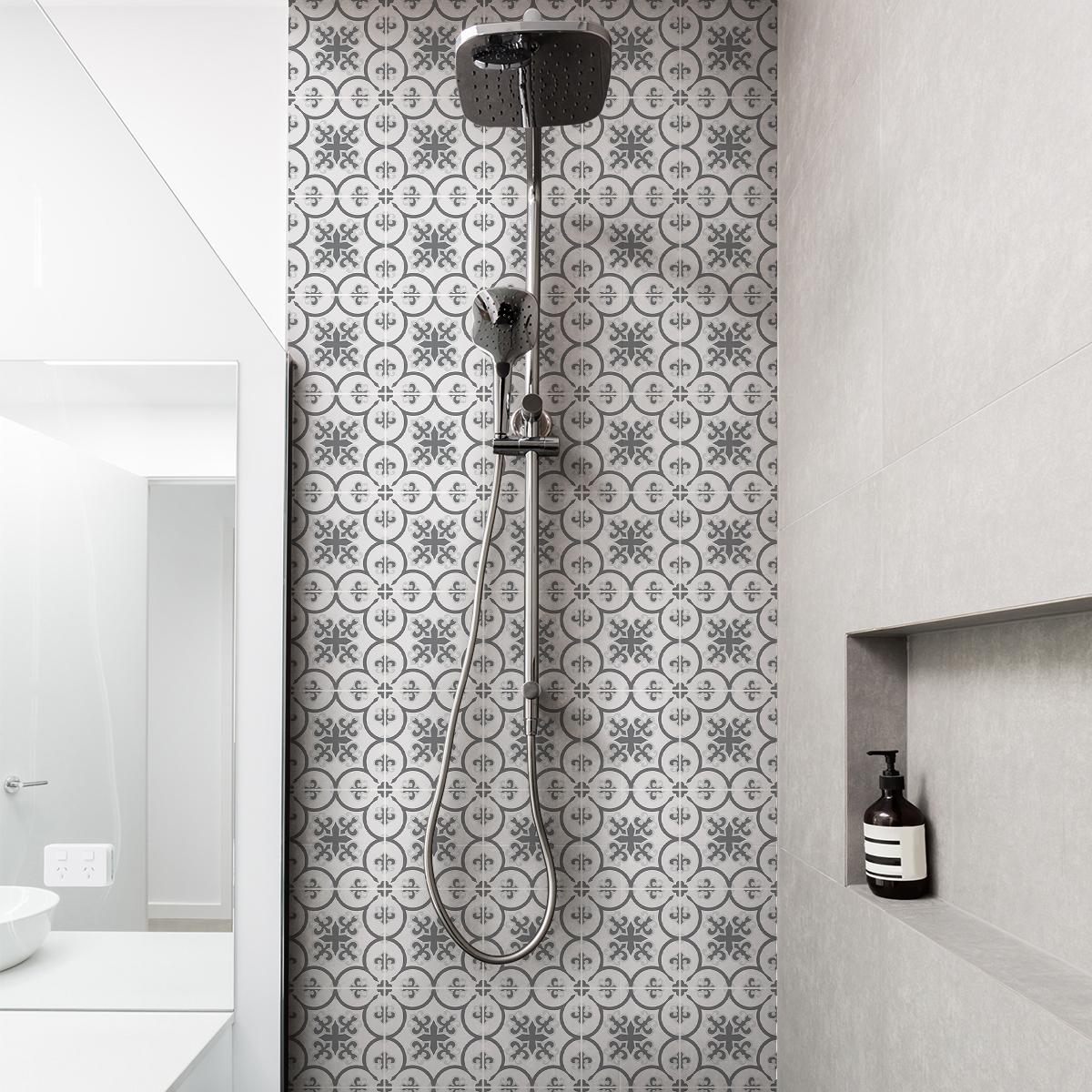 30 stickers carreaux de ciment azulejos diaz cuisine. Black Bedroom Furniture Sets. Home Design Ideas