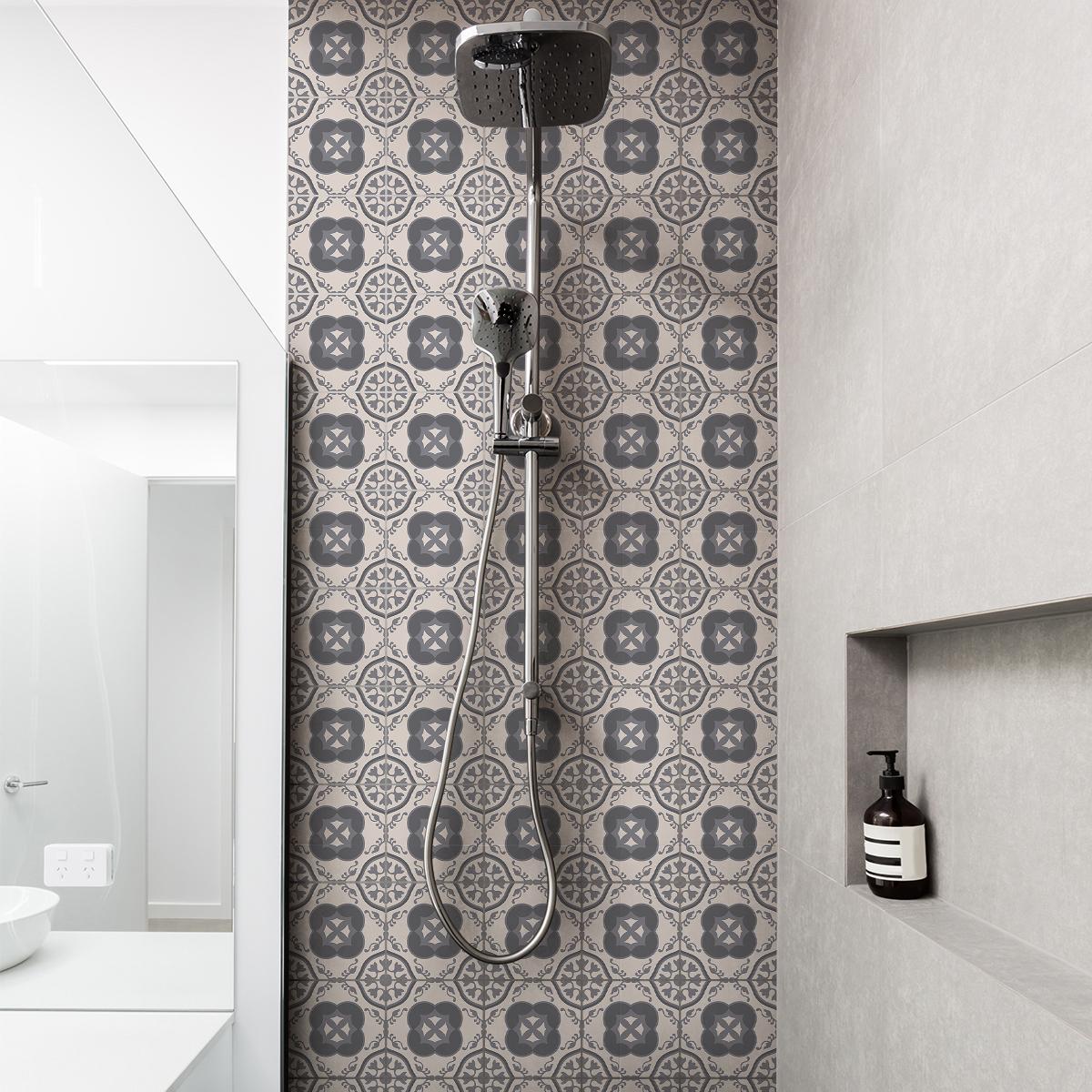 30 stickers carreaux de ciment azulejos porfirio cuisine. Black Bedroom Furniture Sets. Home Design Ideas