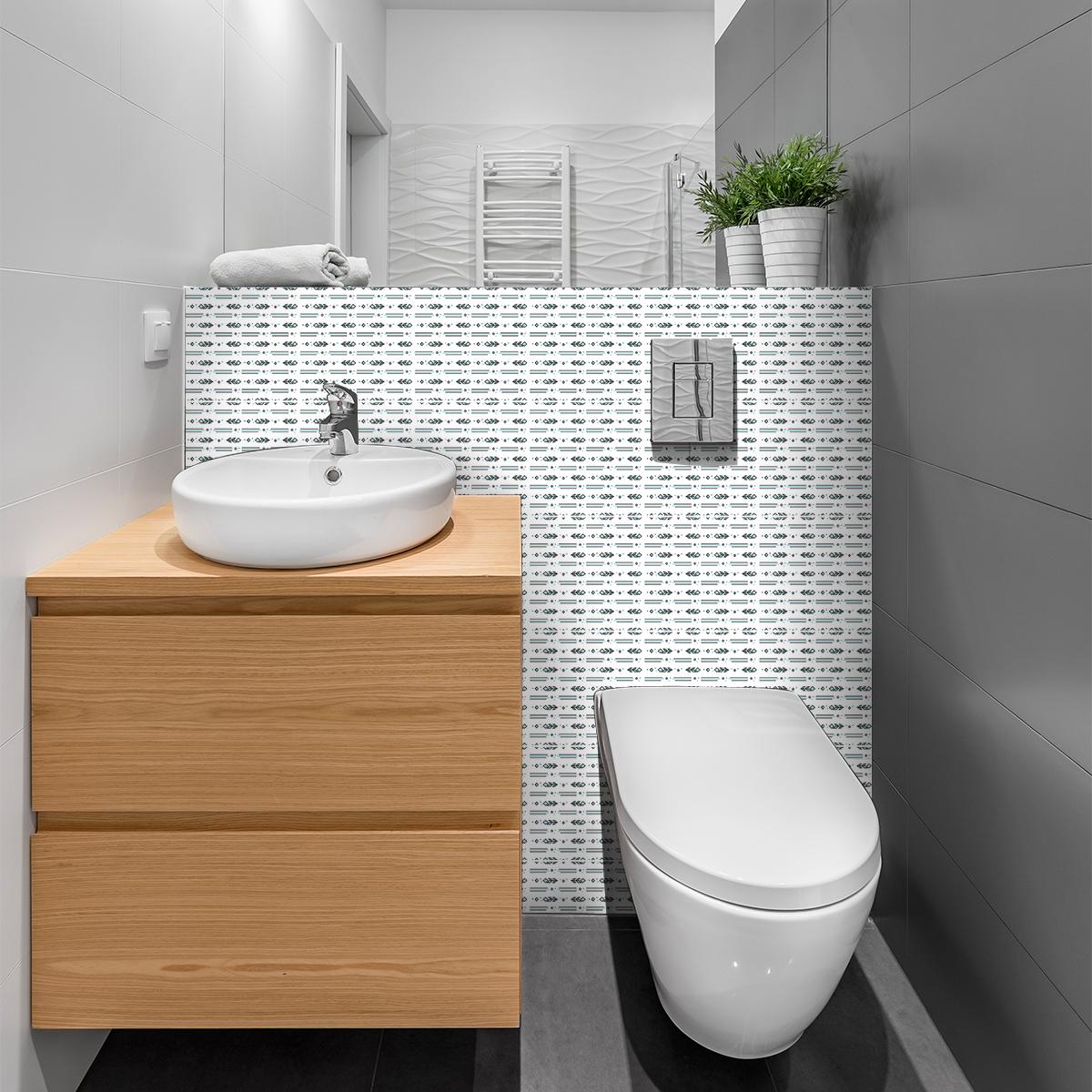 30 stickers carreaux de ciment boh me winona cuisine. Black Bedroom Furniture Sets. Home Design Ideas