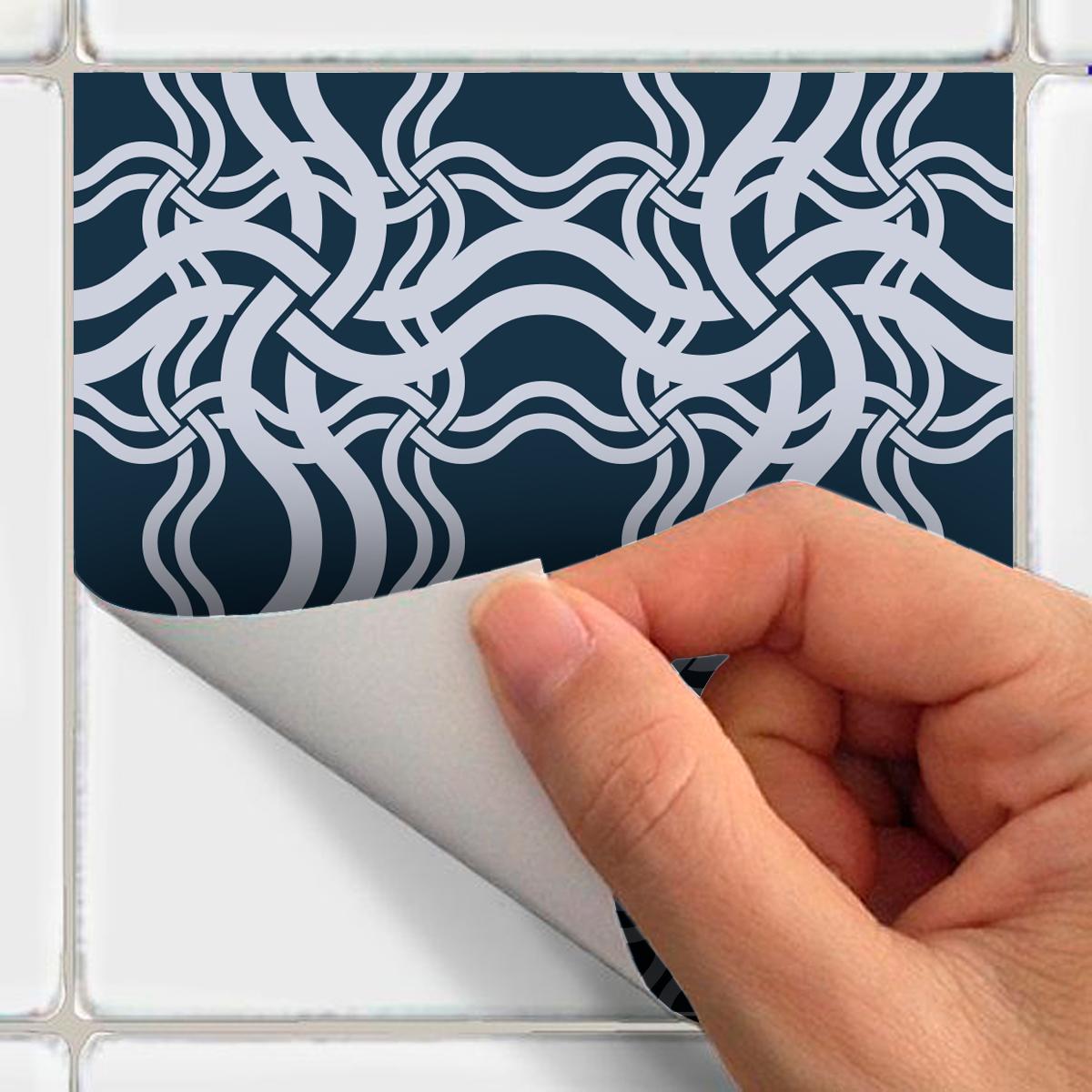 30 stickers carreaux de ciment scandinave odin salle de. Black Bedroom Furniture Sets. Home Design Ideas