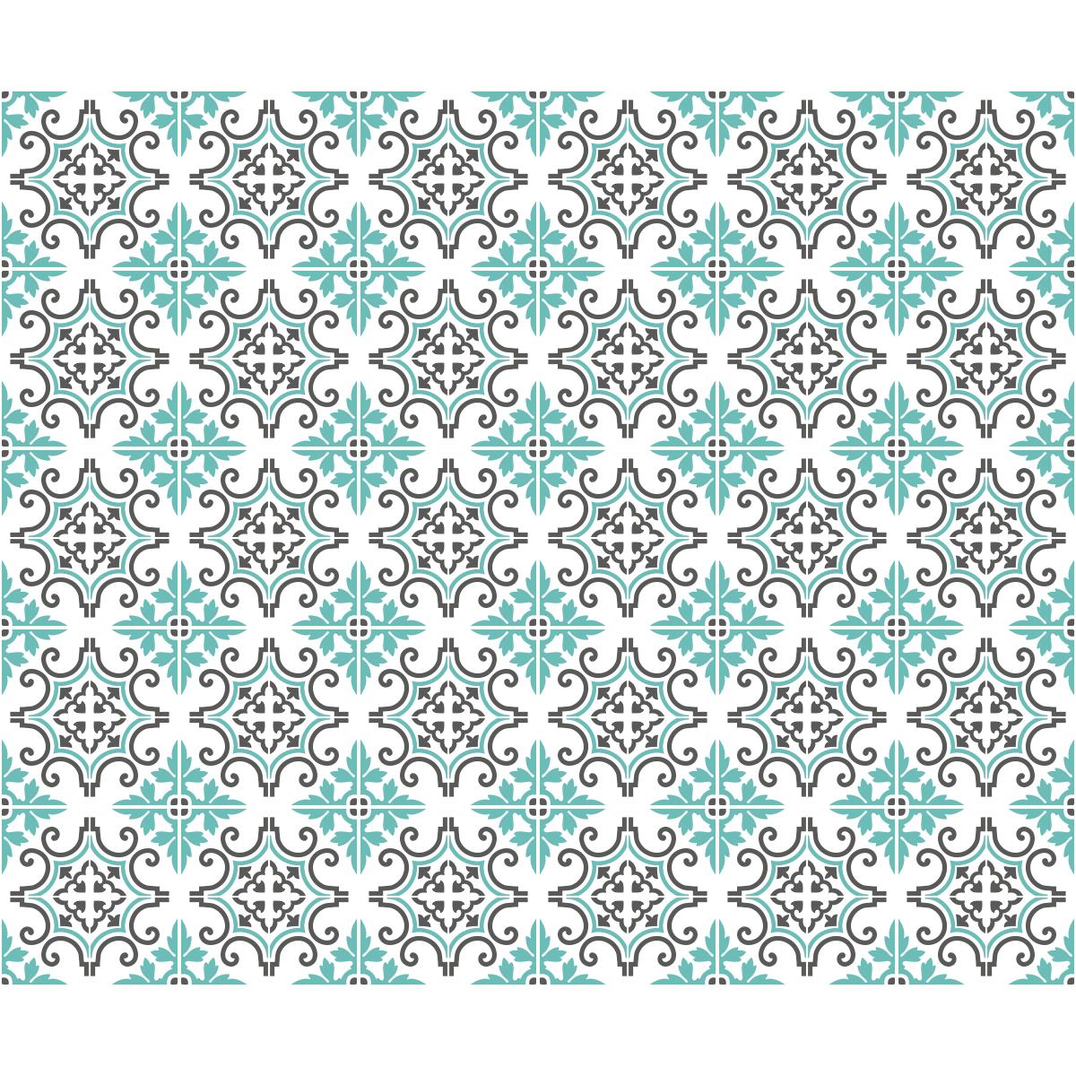 30 stickers carrelages azulejos antonella cuisine carrelages ambiance sticker. Black Bedroom Furniture Sets. Home Design Ideas