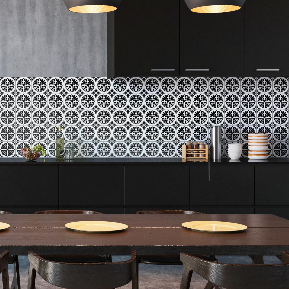 30 stickers carrelages azulejos carlos salle de bain mur salle de bain ambiance sticker. Black Bedroom Furniture Sets. Home Design Ideas