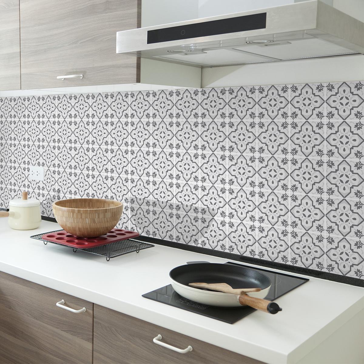 30 stickers carrelages azulejos christina cuisine - Stickers cuisine carrelage ...