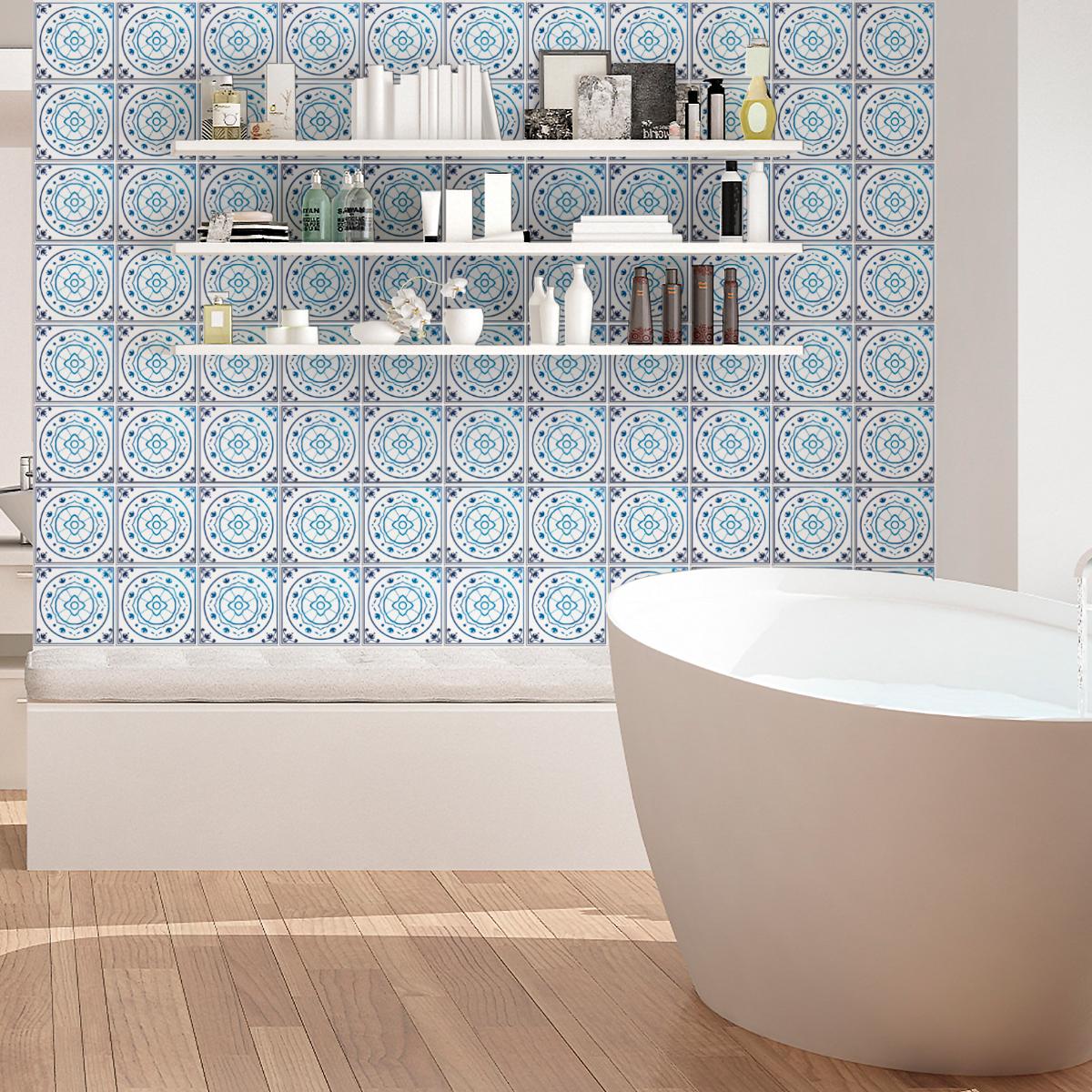 30 stickers carrelages delft amsterdam cuisine carrelages ambiance sticker. Black Bedroom Furniture Sets. Home Design Ideas