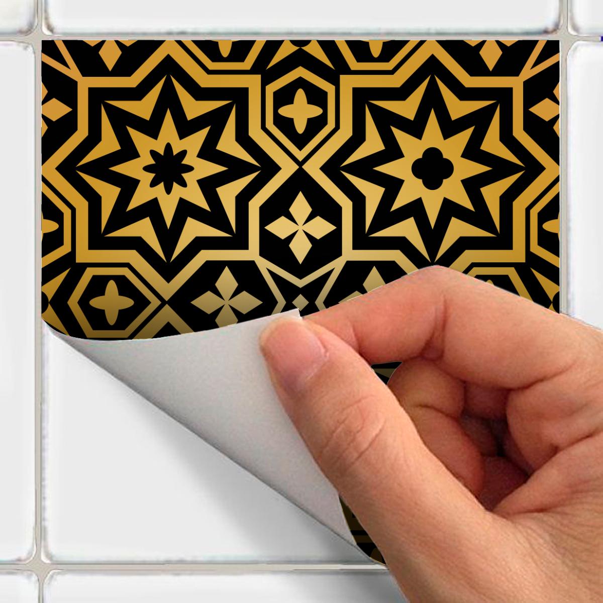 30 stickers carrelages oriental batna cuisine carrelages ambiance sticker. Black Bedroom Furniture Sets. Home Design Ideas