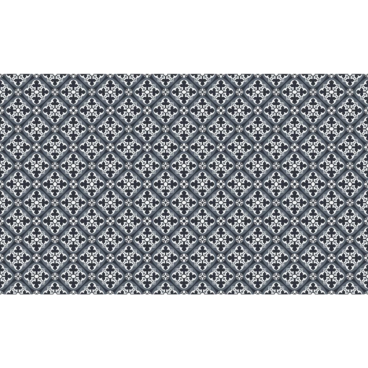 60 stickers carreaux de ciment azulejos ulbaldo cuisine carrelages ambiance sticker. Black Bedroom Furniture Sets. Home Design Ideas