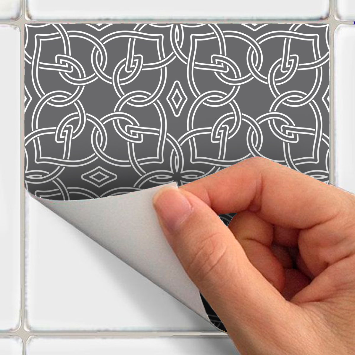 60 stickers carreaux de ciment oriental jerada cuisine carrelages ambiance sticker. Black Bedroom Furniture Sets. Home Design Ideas