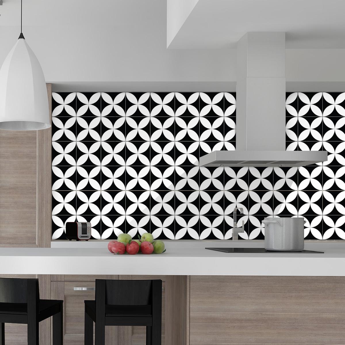 60 stickers carrelages azulejos aniello cuisine - Stickers cuisine carrelage ...