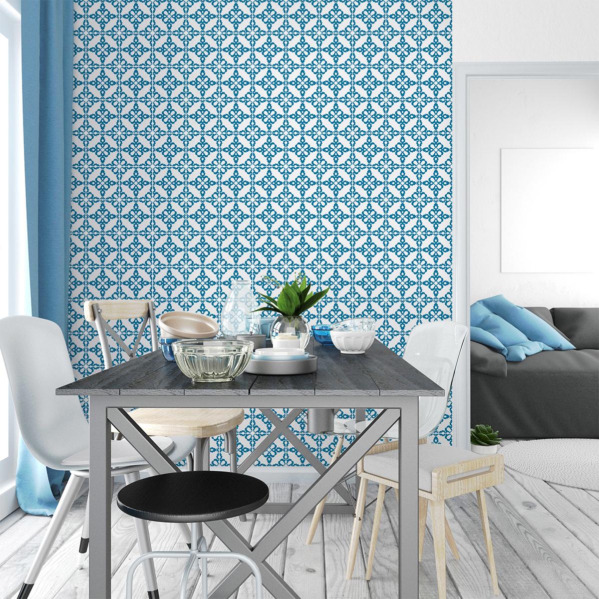 60 stickers carrelages azulejos emerencia cuisine - Stickers cuisine carrelage ...