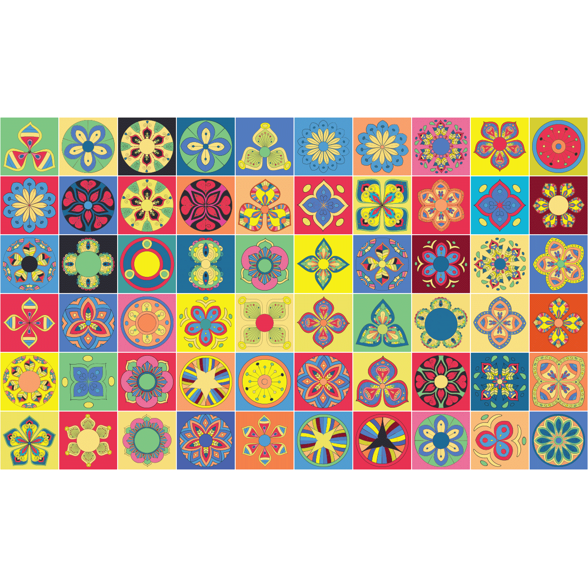60 stickers carrelages azulejos panama cuisine carrelages ambiance sticker. Black Bedroom Furniture Sets. Home Design Ideas