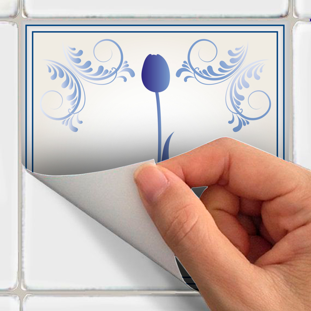 60 stickers carrelages delft texel cuisine carrelages ambiance sticker. Black Bedroom Furniture Sets. Home Design Ideas
