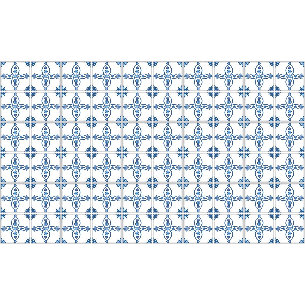60 stickers carrelages delft tilbourg cuisine carrelages ambiance sticker. Black Bedroom Furniture Sets. Home Design Ideas