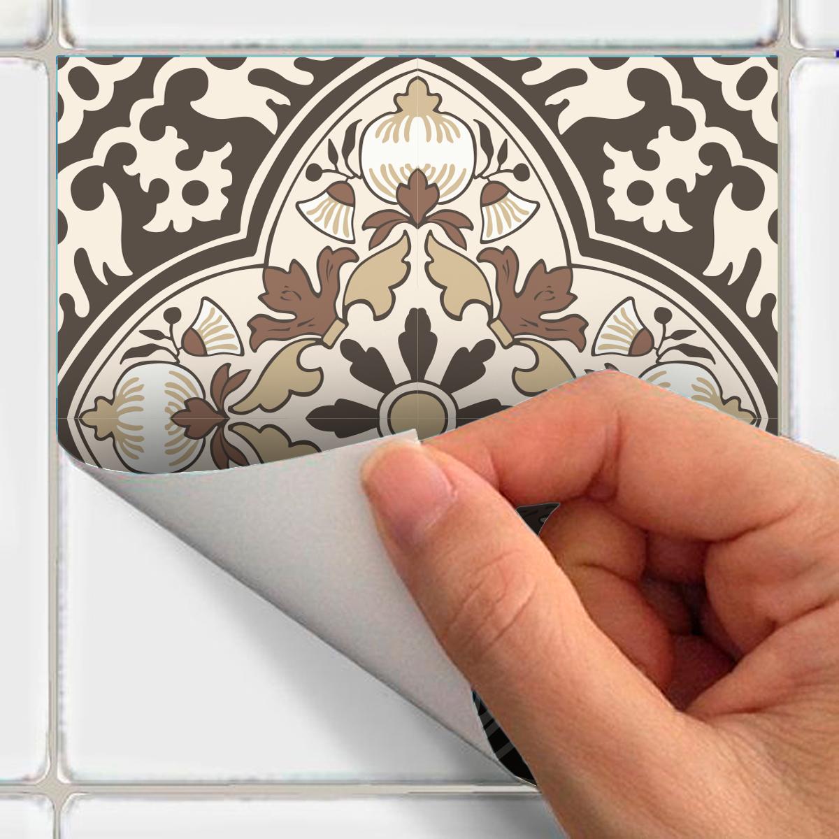 9 stickers carreaux de ciment anc ne salle de bain et wc salle de bain ambiance sticker. Black Bedroom Furniture Sets. Home Design Ideas