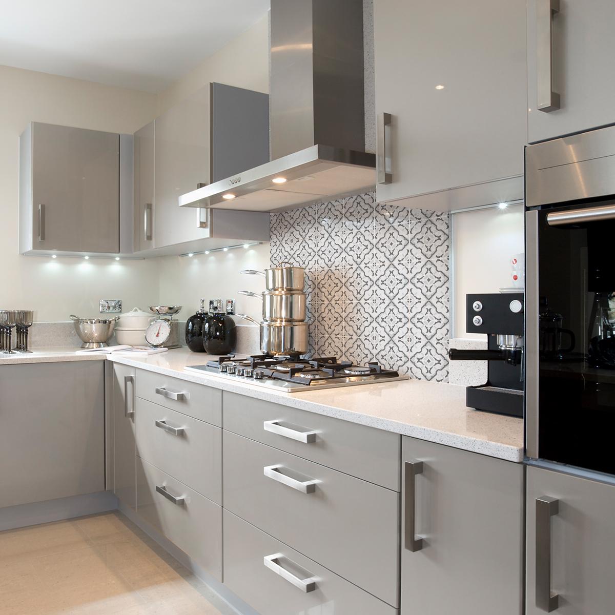 9 stickers carreaux de ciment azulejos vanda cuisine. Black Bedroom Furniture Sets. Home Design Ideas