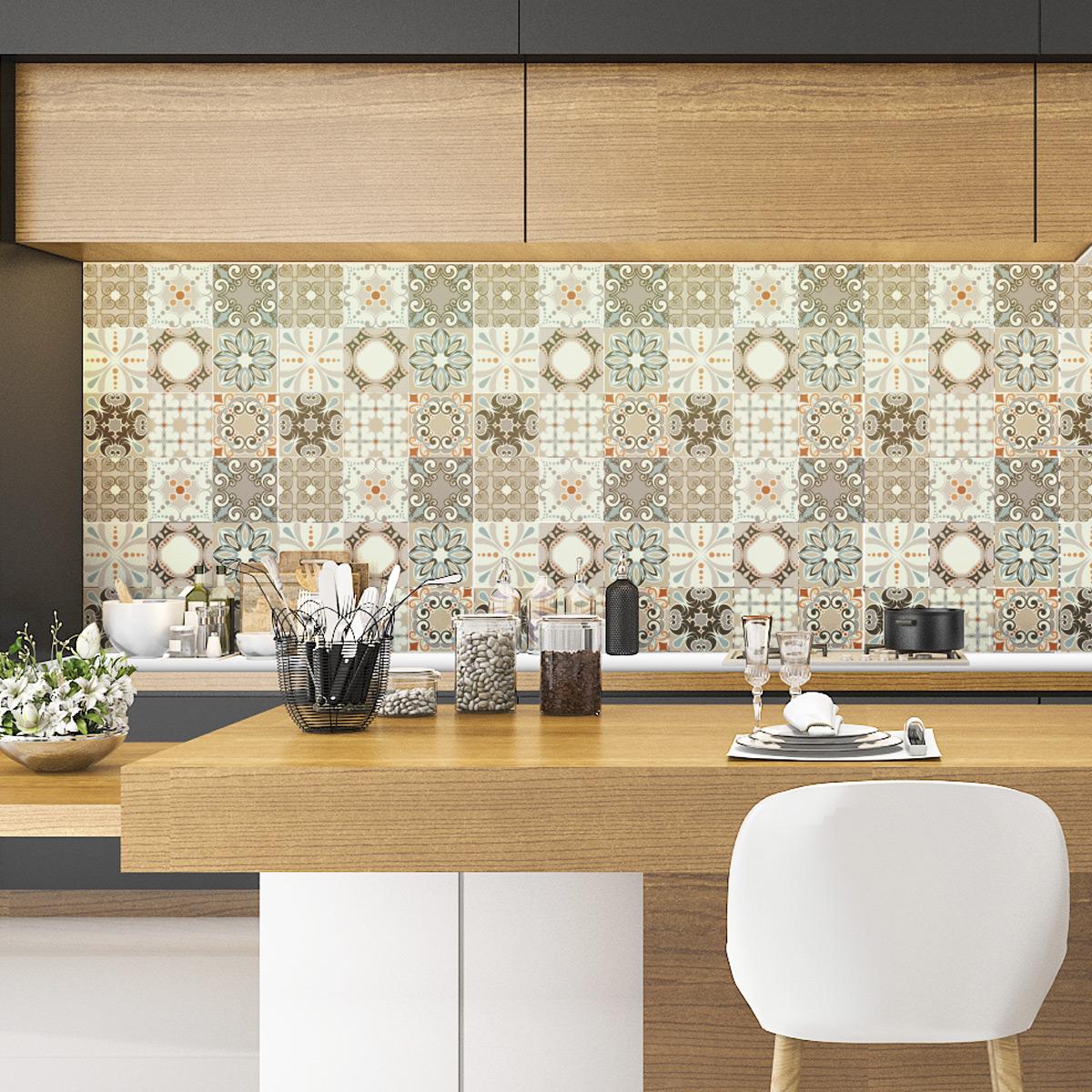 9 stickers carreaux de ciment bol ro salle de bain et wc salle de bain ambiance sticker. Black Bedroom Furniture Sets. Home Design Ideas