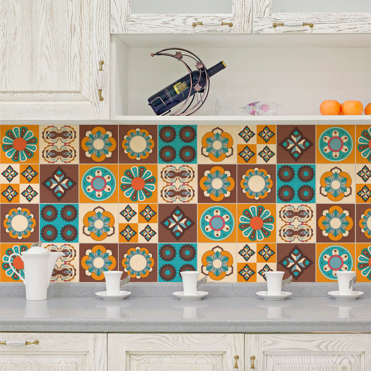 9 stickers carreaux de ciment braga cuisine carrelages ambiance sticker. Black Bedroom Furniture Sets. Home Design Ideas