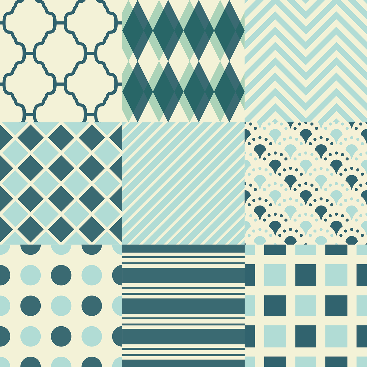 9 stickers carreaux de ciment ethnique hirakata cuisine. Black Bedroom Furniture Sets. Home Design Ideas