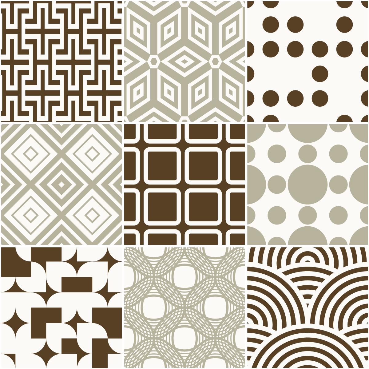 9 stickers carreaux de ciment scandinave baltique. Black Bedroom Furniture Sets. Home Design Ideas