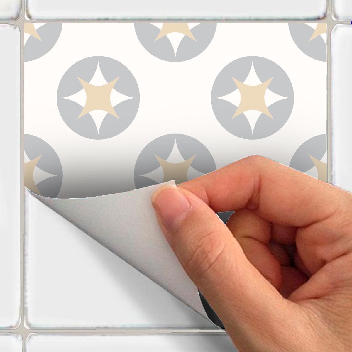 9 stickers carreaux de ciment scandinave samtida cuisine. Black Bedroom Furniture Sets. Home Design Ideas