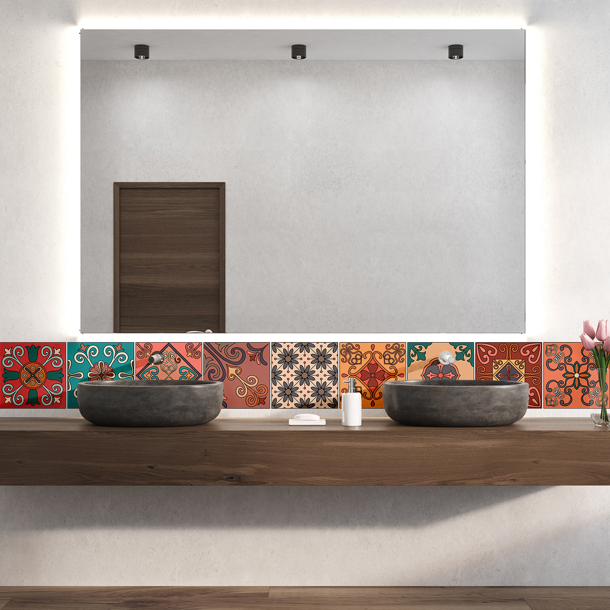 9 stickers carrelages azulejos erminio cuisine carrelages ambiance sticker. Black Bedroom Furniture Sets. Home Design Ideas