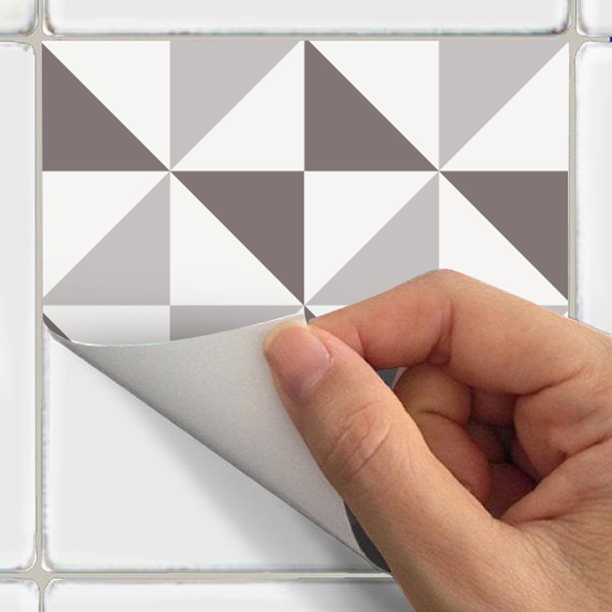 9 stickers carrelages azulejos g om triques art et. Black Bedroom Furniture Sets. Home Design Ideas