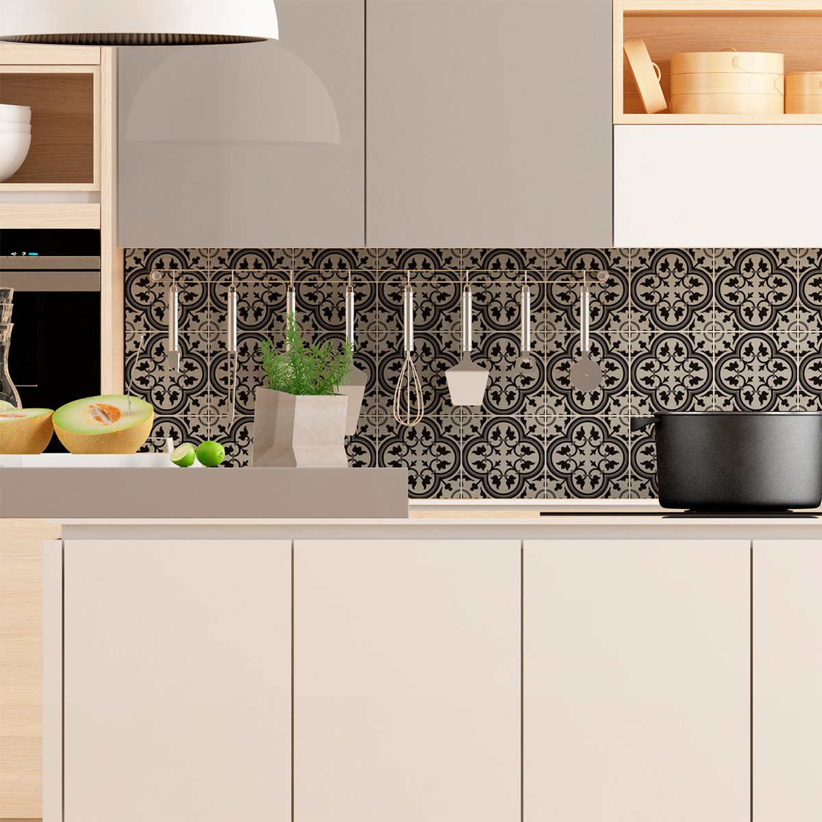 9 stickers carrelages azulejos iolanda cuisine carrelages ambiance sticker. Black Bedroom Furniture Sets. Home Design Ideas