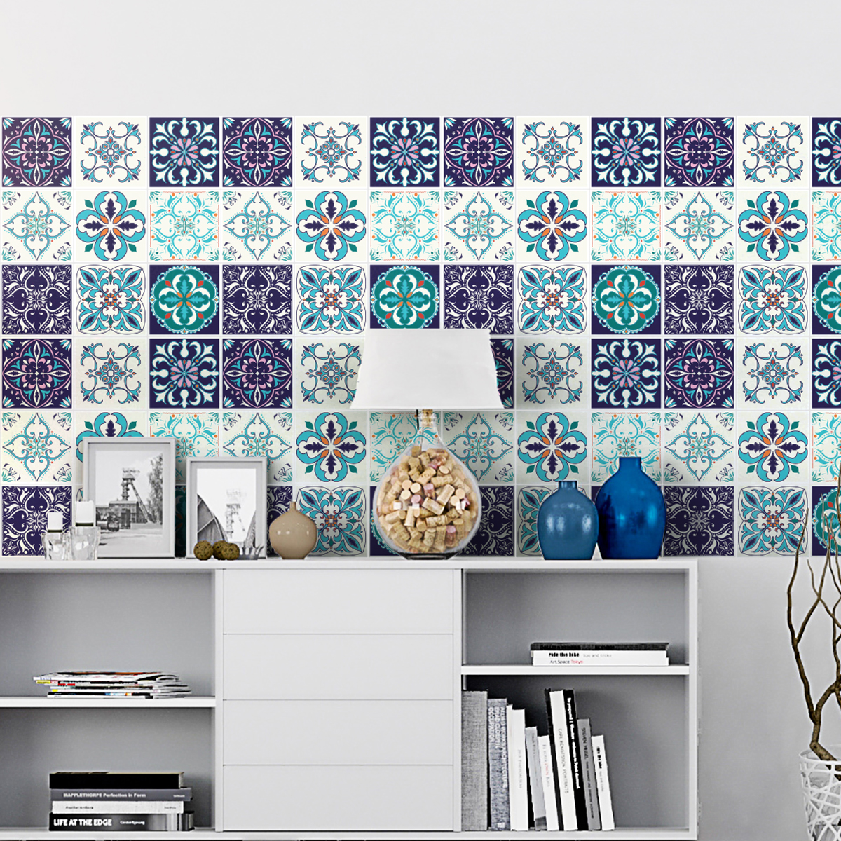 9 stickers carrelages azulejos izmir cuisine carrelages ambiance sticker. Black Bedroom Furniture Sets. Home Design Ideas
