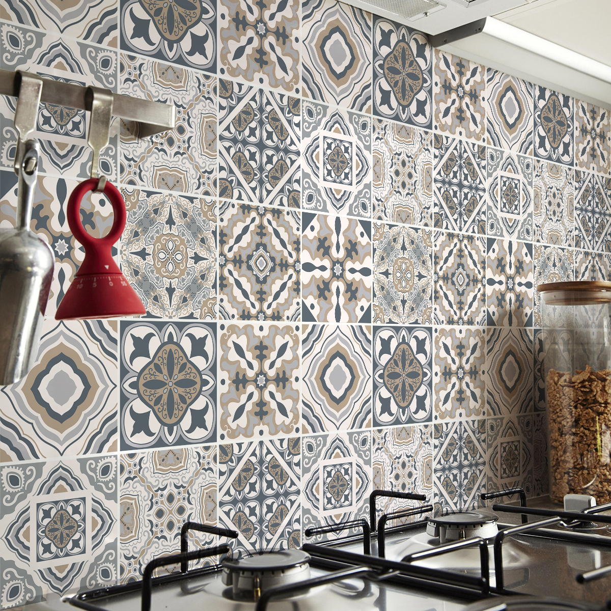 9 stickers carrelages azulejos renzo cuisine carrelages ambiance sticker. Black Bedroom Furniture Sets. Home Design Ideas