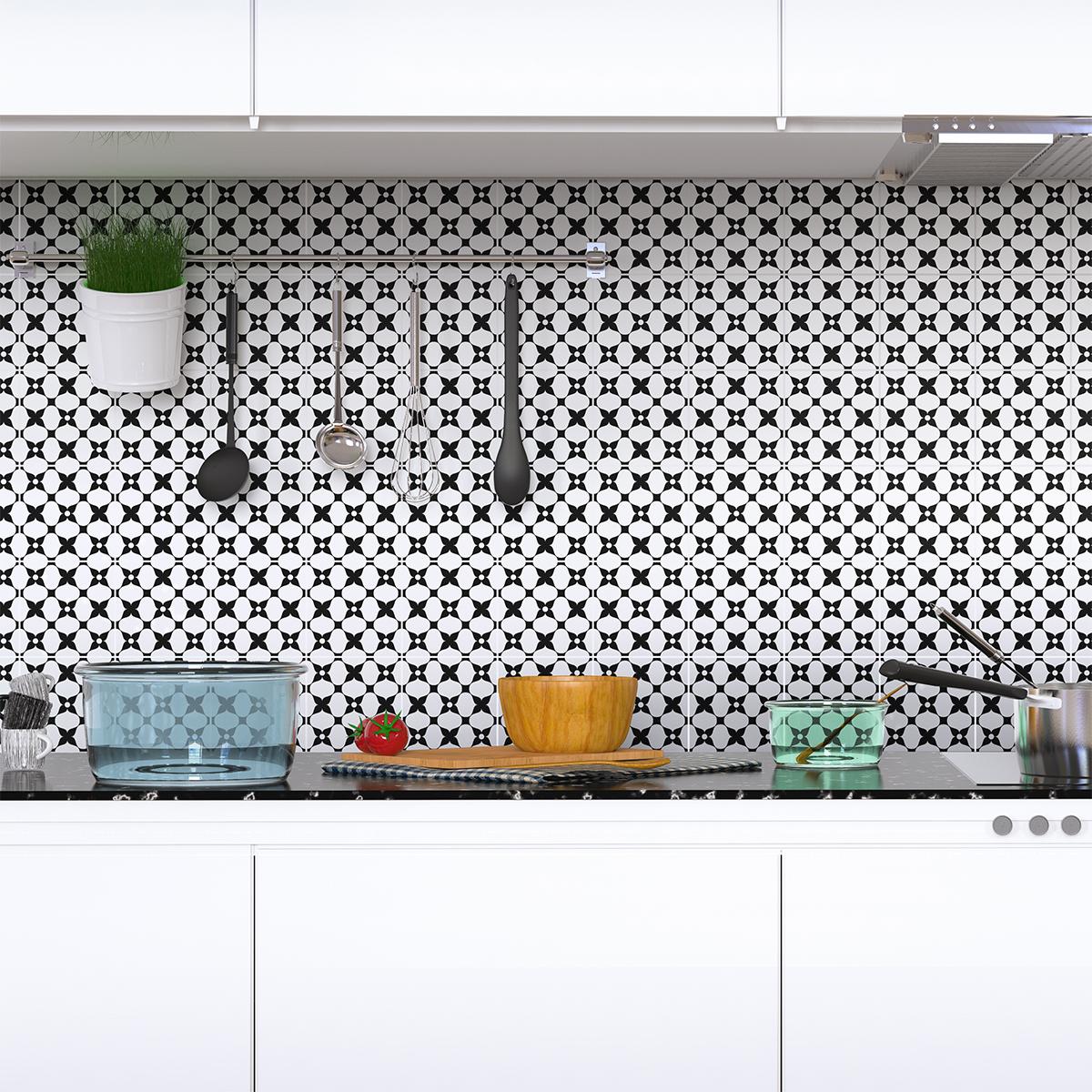 9 stickers carrelages azulejos tonino cuisine carrelages. Black Bedroom Furniture Sets. Home Design Ideas