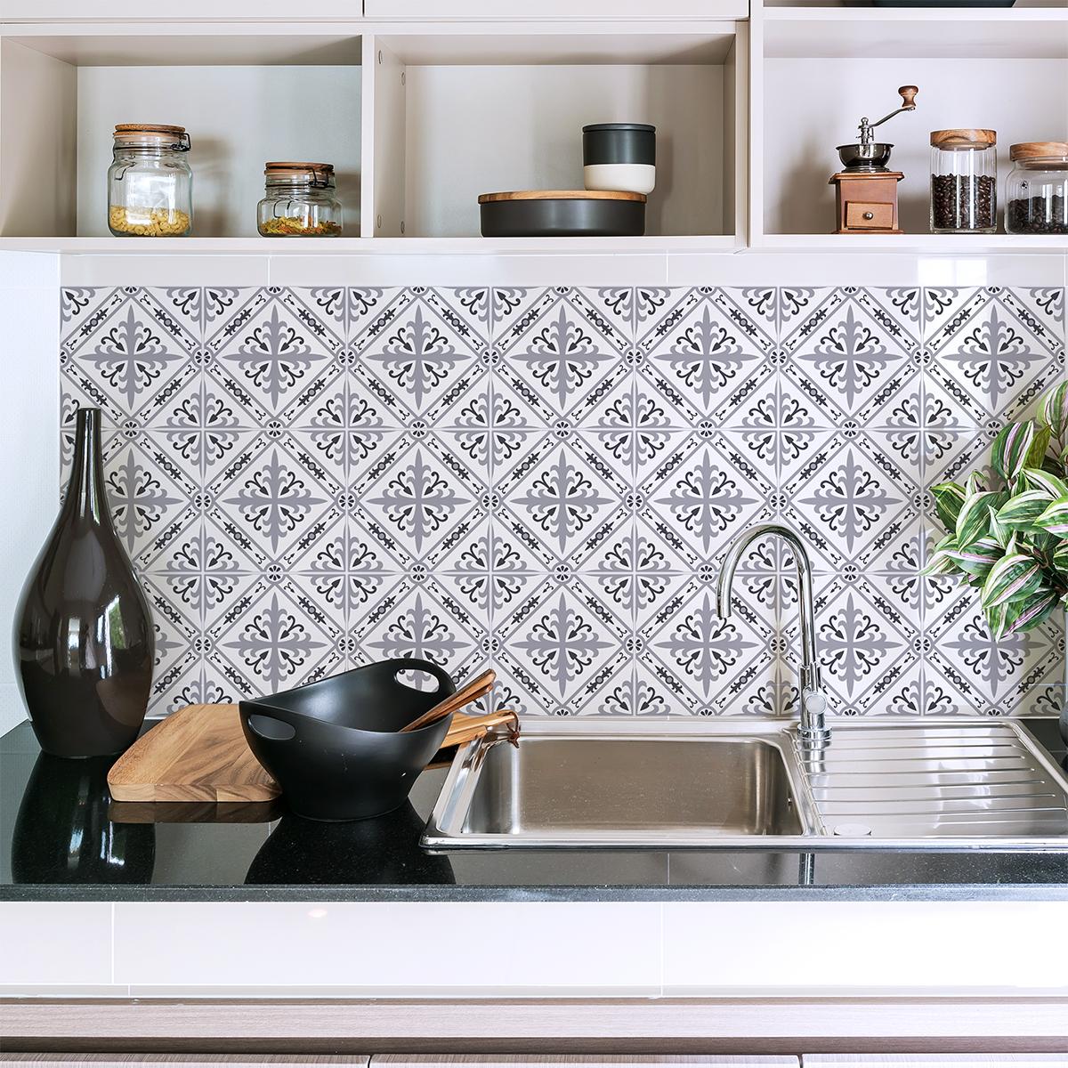 9 stickers carrelages azulejos verma cuisine carrelages - Stickers cuisine carrelage ...