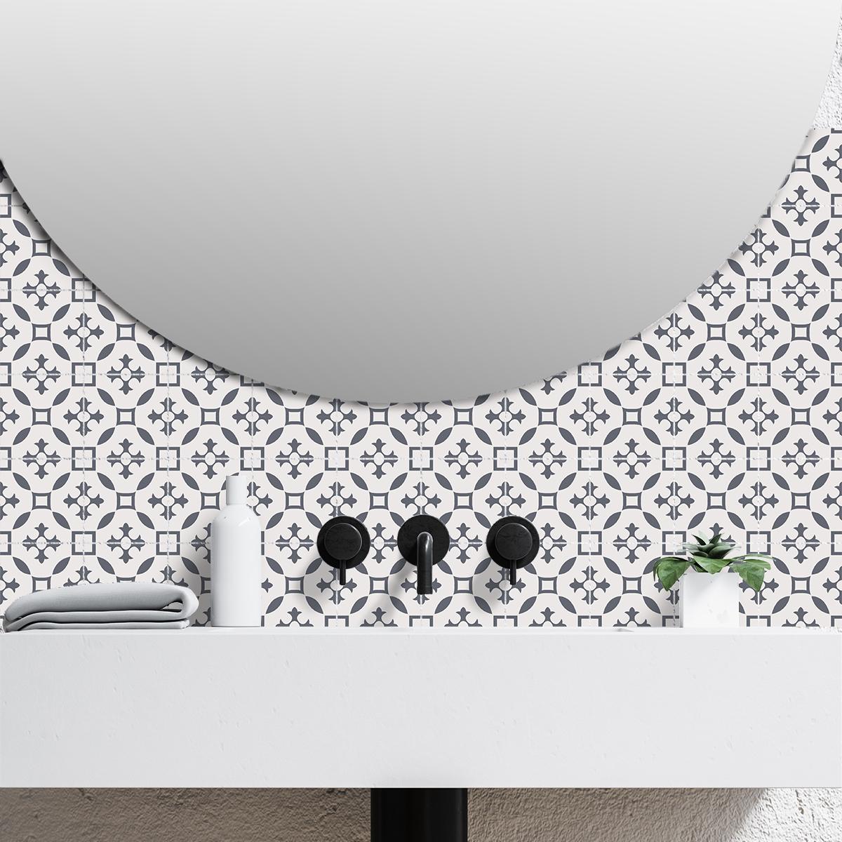 9 stickers carrelages azulejos veroni cuisine carrelages for Stickers carrelage 20x20