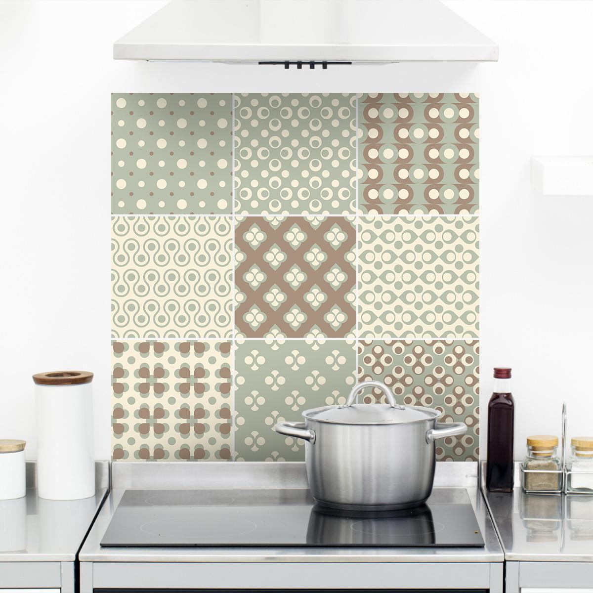 9 stickers carrelages boh me cuisine carrelages ambiance sticker. Black Bedroom Furniture Sets. Home Design Ideas