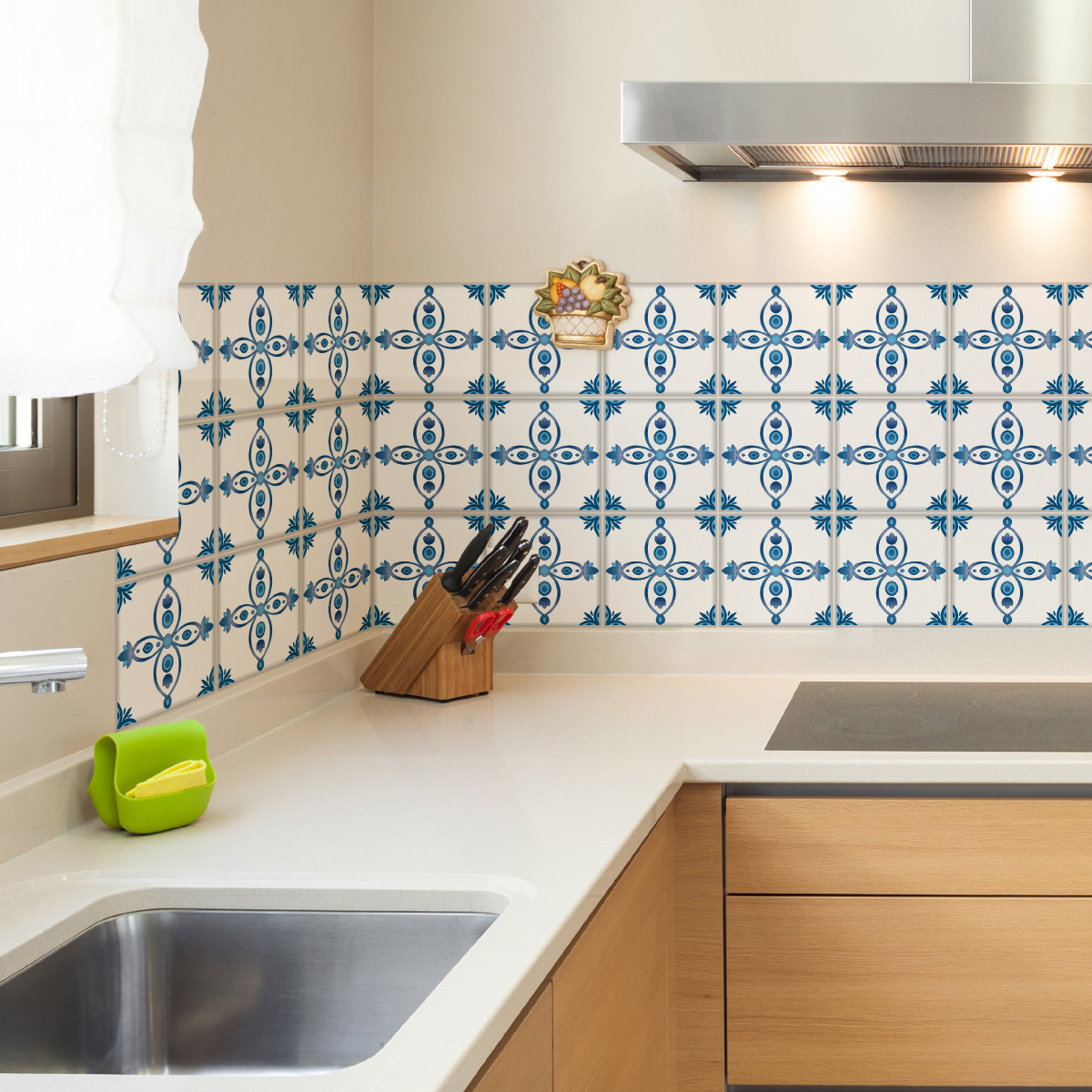 9 stickers carrelages delft almere cuisine carrelages ambiance sticker. Black Bedroom Furniture Sets. Home Design Ideas