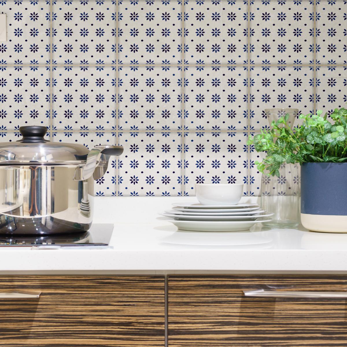 9 stickers carrelages delft hanovre cuisine carrelages ambiance sticker. Black Bedroom Furniture Sets. Home Design Ideas