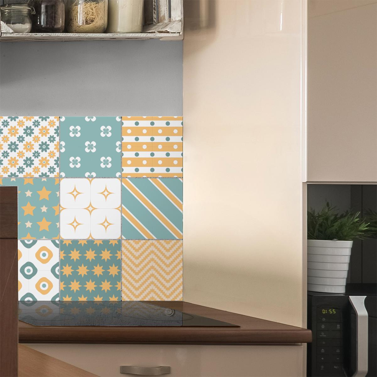 9 stickers carrelages scandinave birghir salle de bain et wc salle de bain ambiance sticker. Black Bedroom Furniture Sets. Home Design Ideas