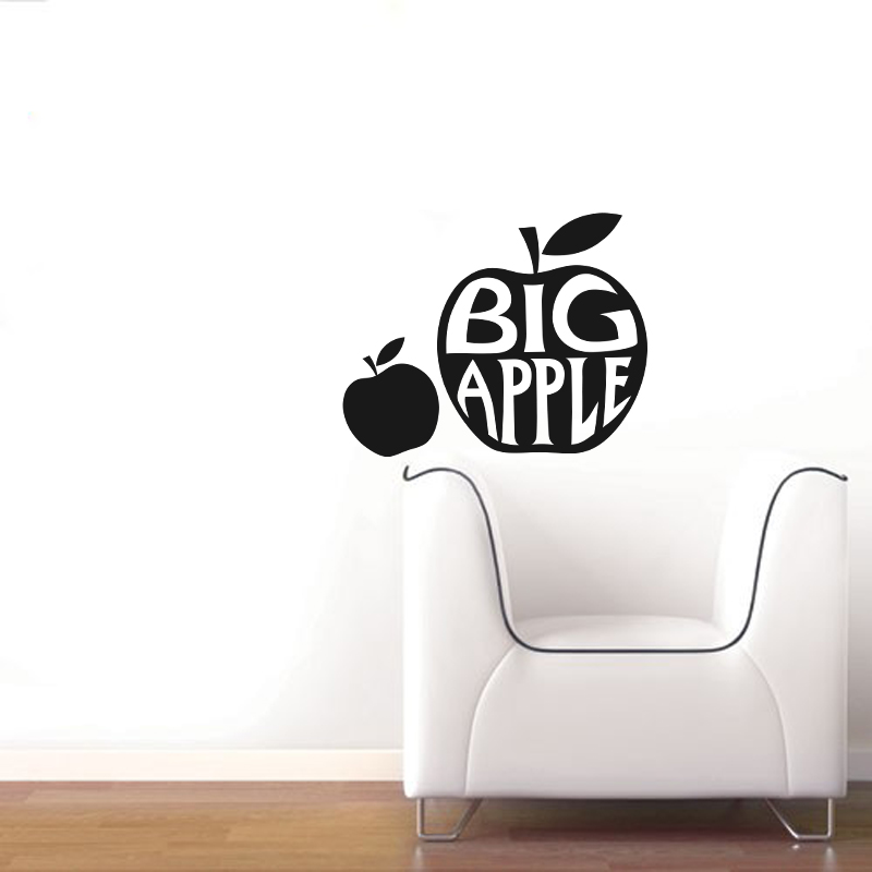 stickers muraux new york sticker grosse pomme ambiance. Black Bedroom Furniture Sets. Home Design Ideas