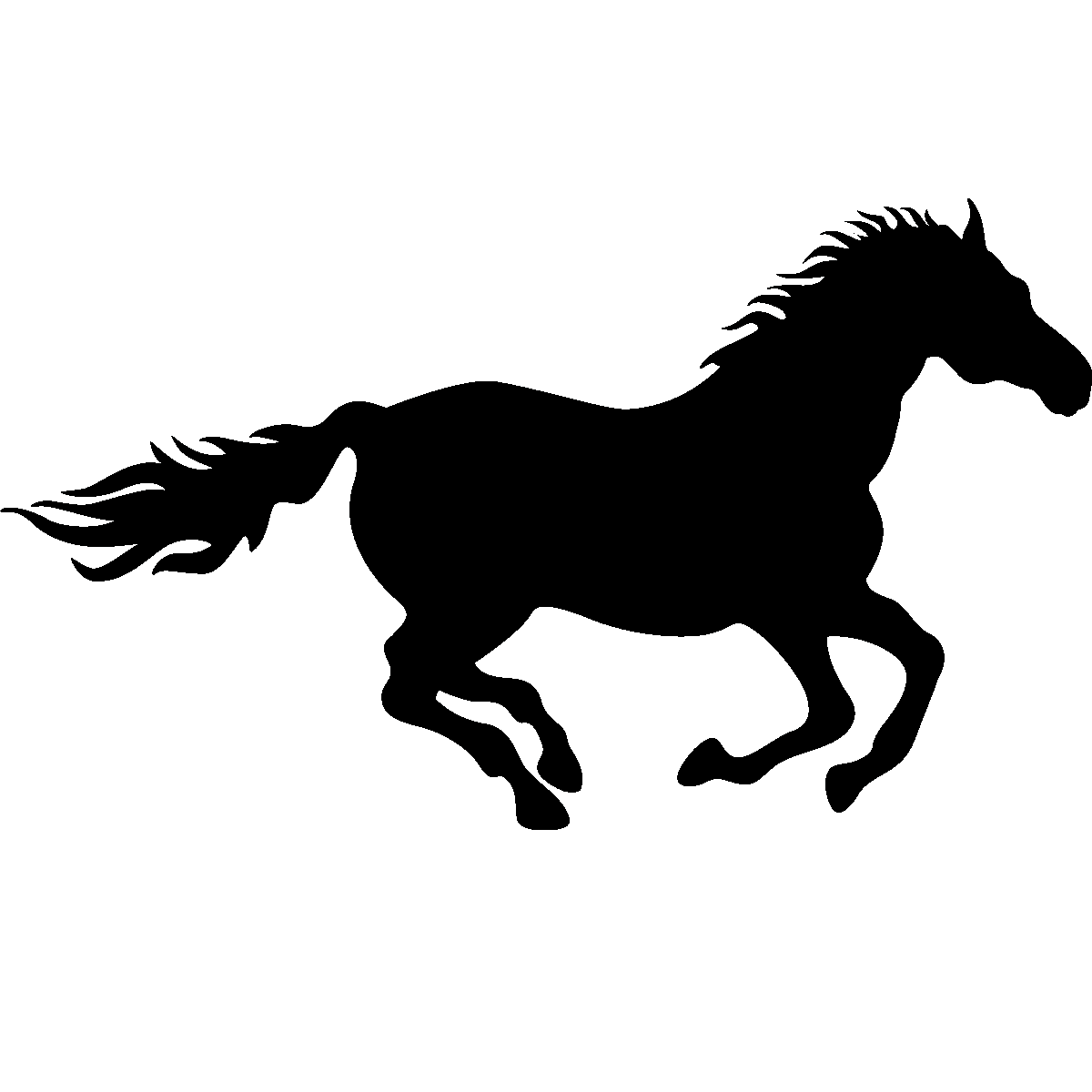 Running Horse Silhouette Png Png Running Horse Running Horse Png