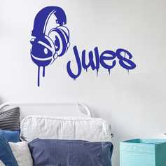 sticker ado stickers muraux ados chambre ado ambiance sticker. Black Bedroom Furniture Sets. Home Design Ideas