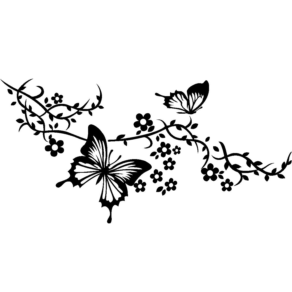 Une Salle De Bain En Anglais : Butterfly On Branch